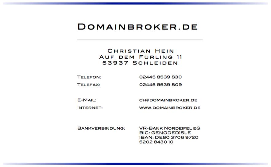 Domainbroker.de